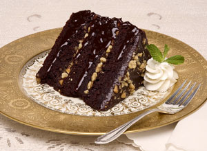 The Fort's Chile Chocolate Bourbon Cake
