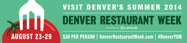 Denver Restaurant Week Summer 2014