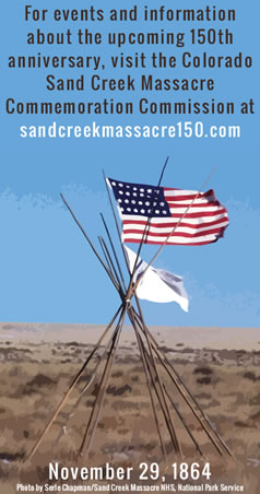 Sand Creek Massacre Commemoration Commission Logo