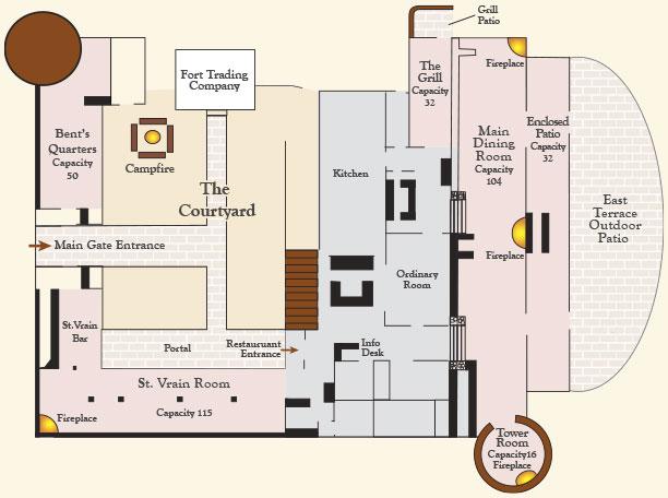The Fort Floorplan