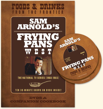 Frying Pans West Cookbook and DVDs