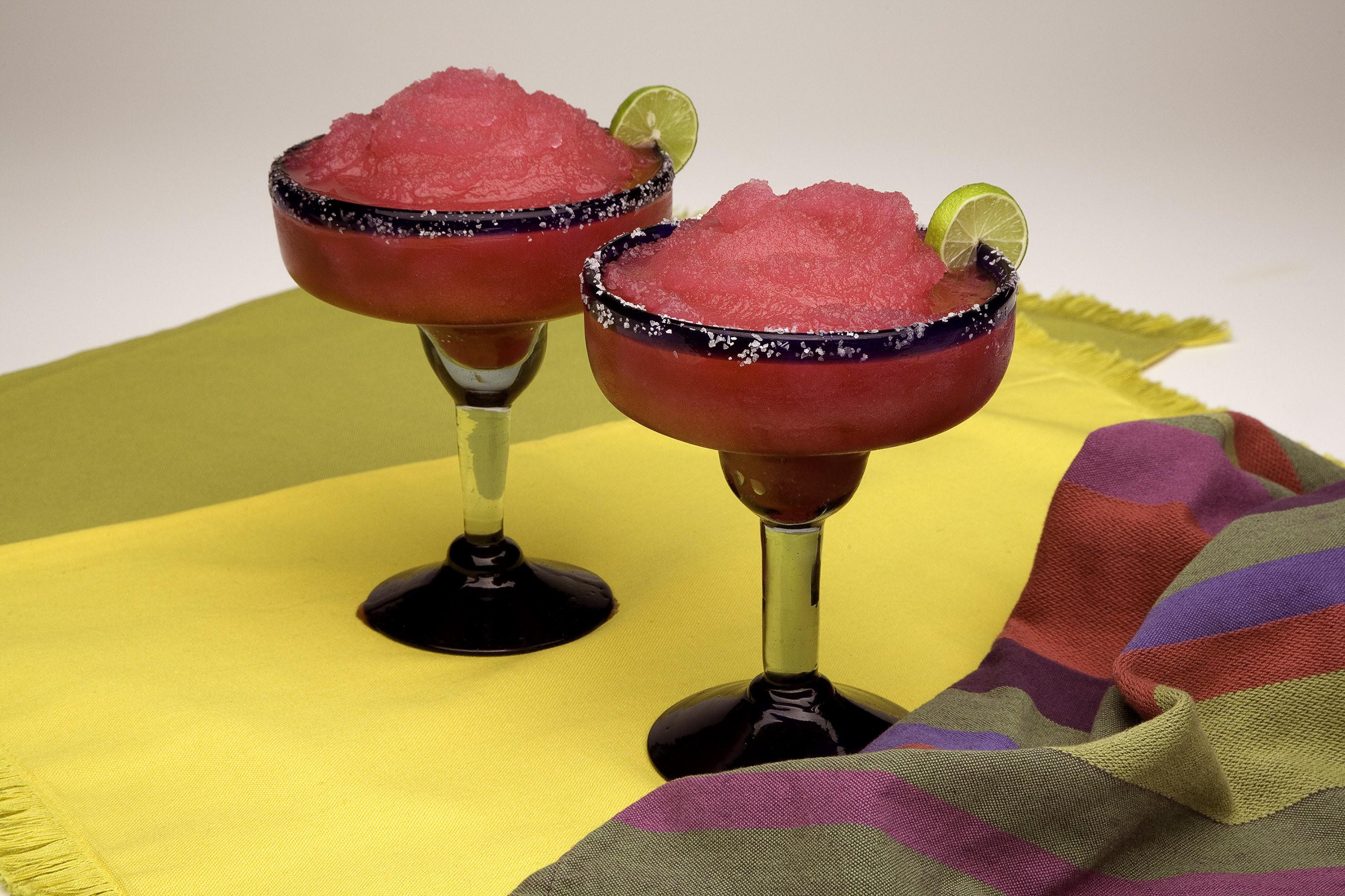 The Fort's modern interpretation, the prickly pear margarita