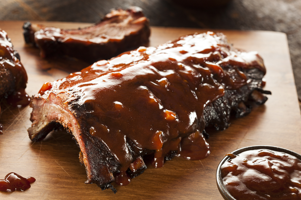 The Fort's Smokehouse Buffalo BBQ Ribs Recipe: A Food Network ...