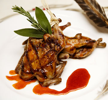 William Bent's Grilled Quail