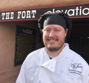 Chef Ian Stewart-Shelafo