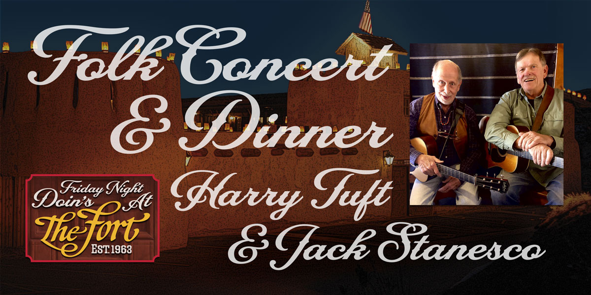 Concert and Dinner with Harry Tuft and Jack Stanesco