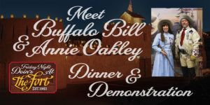 Meet Buffalo Bill and Annie Oakley at The Fort