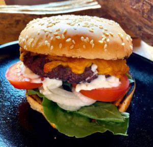 Half a Pound Buffalo Burger